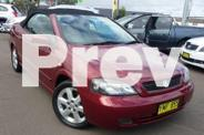 HOLDEN ASTRA CONVERTIBLE TS  2001