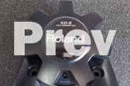 KICK TRIGGER PAD - ROLAND KD-8 V-DRUM KICK TRIGGER PAD