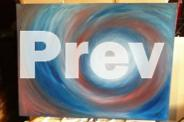 Large Modern Abstract Art on Canvas RRP $449