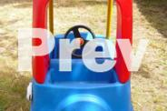Little Tikes Blue Cozy Coupe - Kid's Play Car