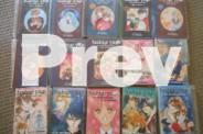 Manga novels $3 per book