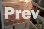 Medium size fridge