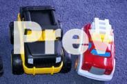 Mega Bloks and Cars for Toddler