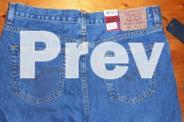 Mens Levi 504 Jeans - Size 36