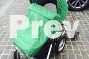 Micralite Toro Pram/Stroller with toddler skateboard