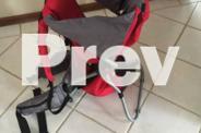 Mothercare toddler carrier - back carrier