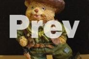 New 6 cowboy bears figurine