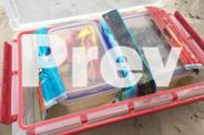 New Lures, tackle box, trays, hooks and tackle