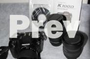 Pentax K100D Camera and Accessory Kit