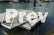 Pontoon - Cable Brace System - 6m x 3m - Second Hand