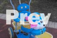 Push Along Steerable Trike in good condition