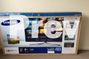 Samsung 3D Full H.D. T.V. 48cm. & blu ray 3D D.V.D. &