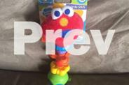 Sesame St Beginnings, Elmo Rattle Twizzle Stick