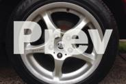 set of 4 17 inch integral wheels with rwc tyres suit