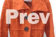 SHOWROOM Tangerine Wool Coat - Designer Piece