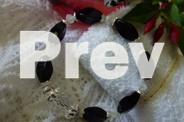 STYLISH BLACK ONYX GO ANYWHERE BRACELET WITH SWAROVSKI