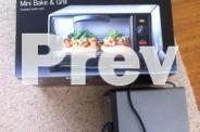 Sunbeam oven and grill