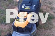 Talon OHV 4 stroke lawnmower with catcher.