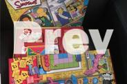 The Simpsons board game + Simpsons trivia game