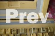 VINTAGE -- AMSTRAD PC1640DD COMPUTER