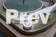 Vintage Telefunken TW561 Capstan Drive Turntable