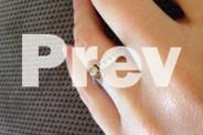 White gold bridal set - 1ct of diamonds