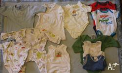 Here is a bulk lot of boys' clothes size 0000, some