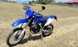 I have a WR250f for sale. Comes with RWC and registered