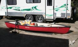 14 Ft Old Town Rockport Canoe, never been in the water,