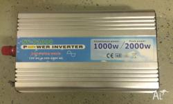 1000 Watt Pure Sine Wave Inverter - 12 Volt DC - 240