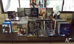 This huge lot of movies includes: Box Sets: Terminator