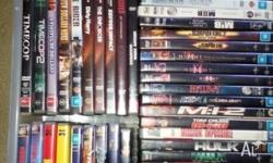 I have 100 Dvd to selll, I have very good collection