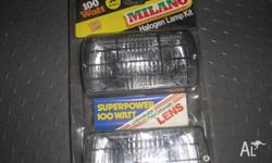 New ,never opened oldschool milano driving lights inc.