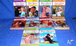 10 Harlequin Mills and Boon Romance Novels All in good