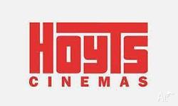 I have 10 Hoyts e-Vouchers that are valid until 31