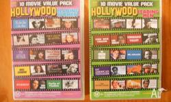 For sale are: 10 Movie Value Pack - Hollywood Leading
