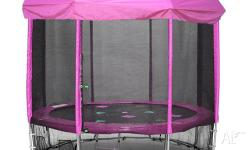 We are selling our 10ft Oz Trampoline, this item was