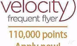 Message me! Get 110,000 Velocity flyer points + one