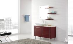 Catalan 1200' Sleekly designed freestanding Vanity made