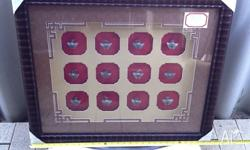 3D 12 Chinese Animal Zodiac Signs Ready Framed Size: