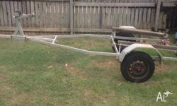 UP TO 12 FOOT TINNY TRAILER GOOD CONDITION NO REGO HAS
