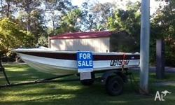 Great boat for estuary and fresh water fishing