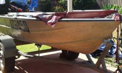 12 ft Dinghie plus Trailer and 6.0 hp Mercury Motor. 12