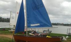 Included in the sale is a registered trailer. All sails