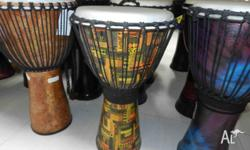 You won't buy a Djembe like this drum here in any of