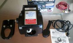 Boat or automotive winch 12 volt