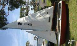This is a sail training dinghy developed and used on