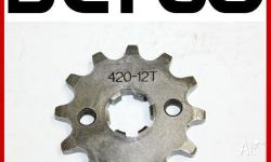 Brand New 12T Front Sprocket Cog for 420 Chain Fit