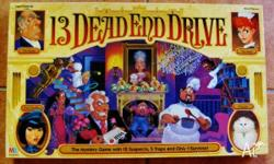 13 Dead End Drive - The mystery game with 12 suspects,