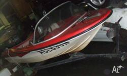 13ft Fibreglass Runabout. Early 80's built by Miami